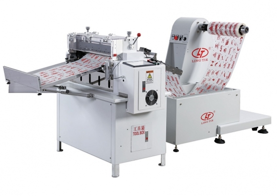 Kertas bercetak Offline Roll to Sheet Cutter Machine